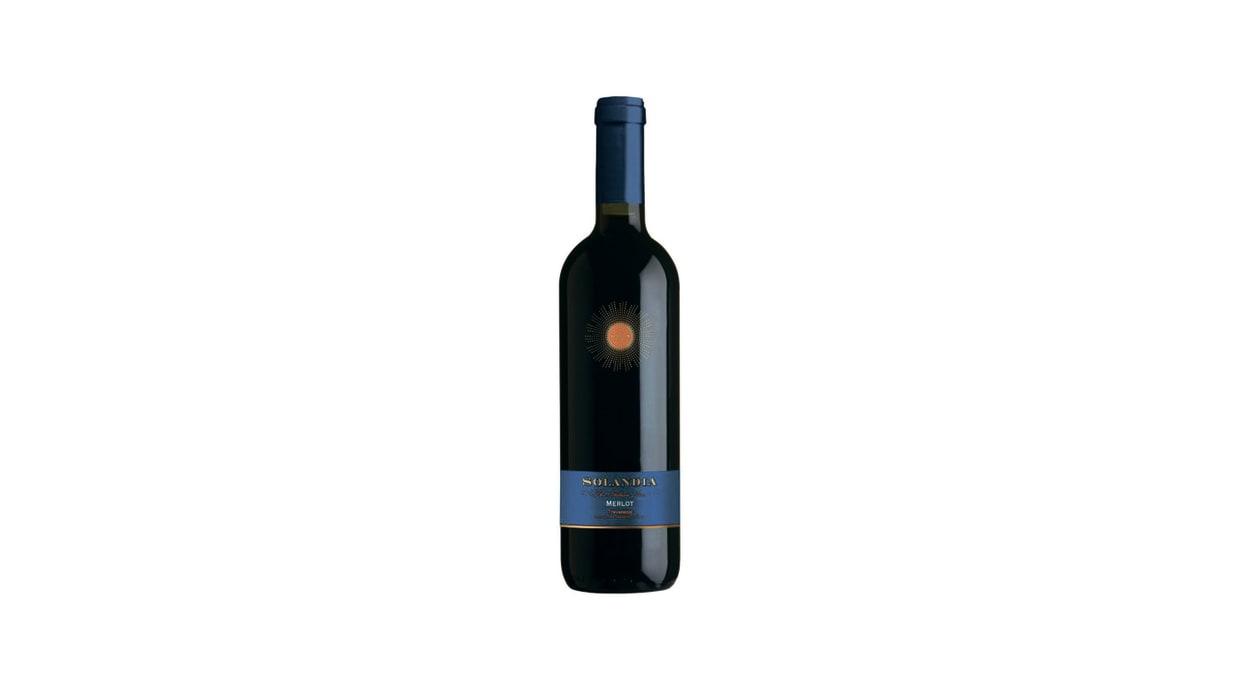 Вино Соландія Мерло червоне сухе (0,75л)