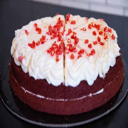 Pastel completo Red Velvet (2.4 kg.)