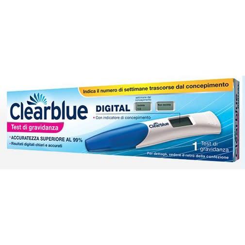 Clearblue Digital test di gravidanza con indicatore delle settimane