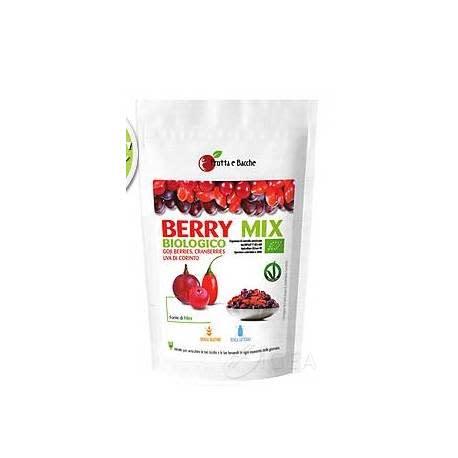 Frutta e Bacche Berry Mix Biologico