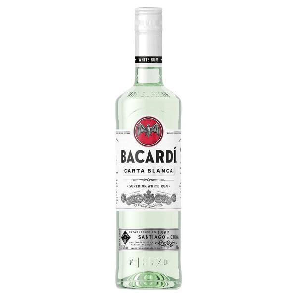 Barcadi White Rum 750ml