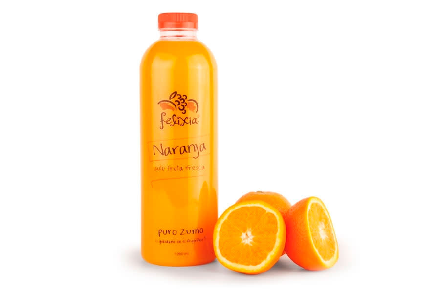 Zumo Natural De Naranja (1 Lt.)
