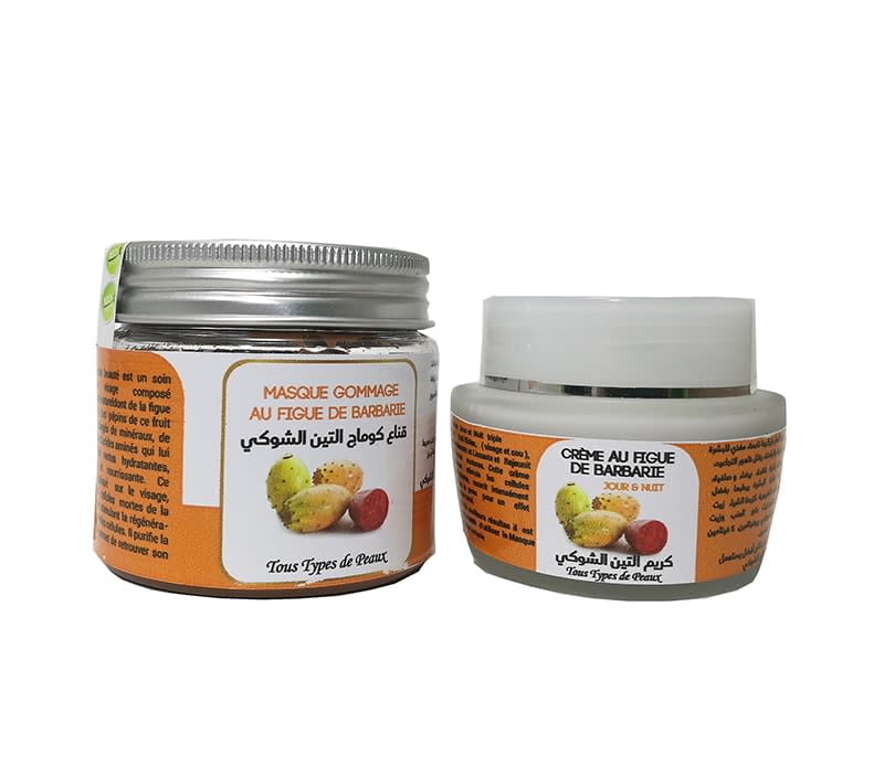 Pack de Figue de Barbarie (masque+crème)