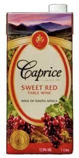 Caprice Sweet Red 1000Ml
