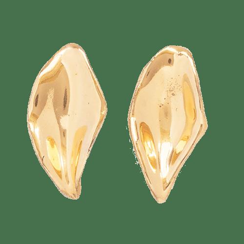 Orecchini Foglia - oro