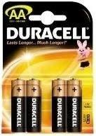 DURACELL BASIC AA, 4/1 MN1500 LR6