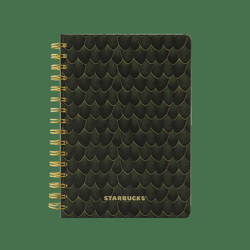 Cuaderno espiral sirena verde