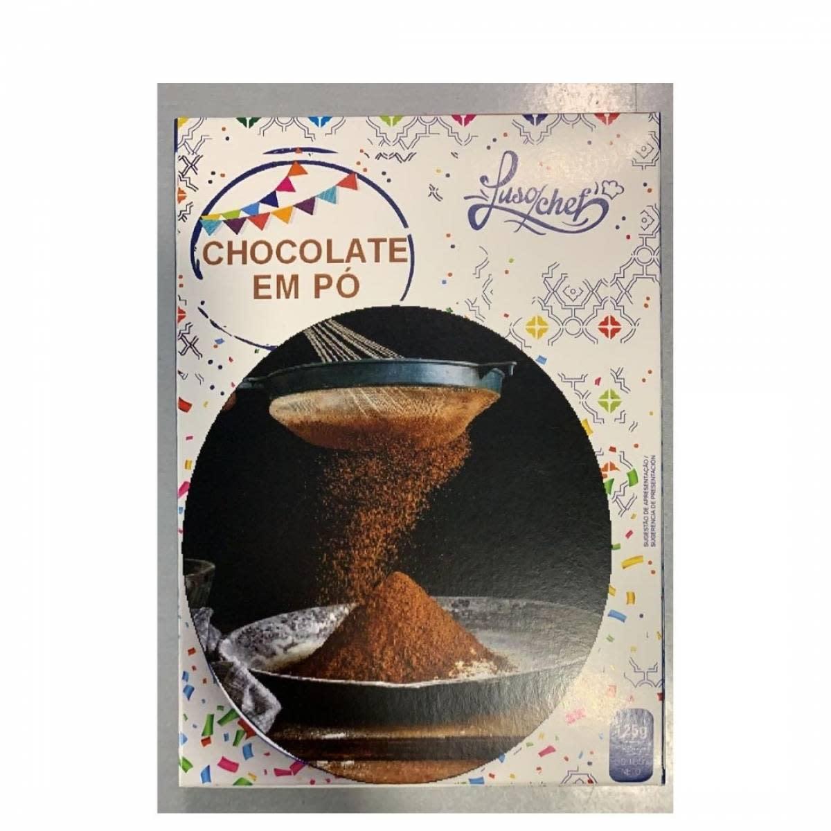 Chocolate em Pó 125 g – Lusochef
