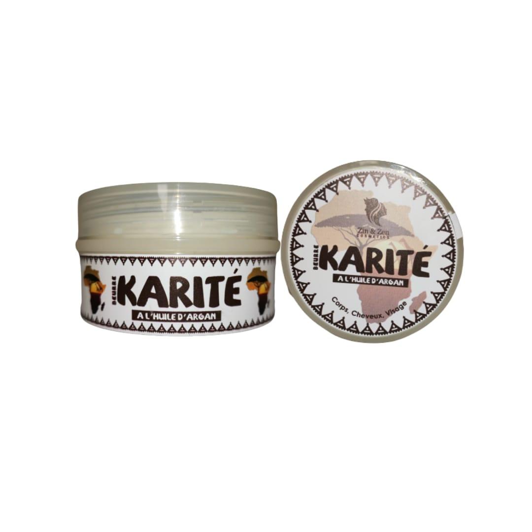 Beurre de Karité à L'Huile d'Argan 100ml