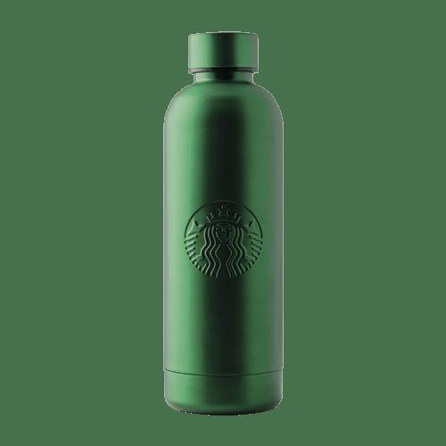 Botella verde metalizada 19 oz