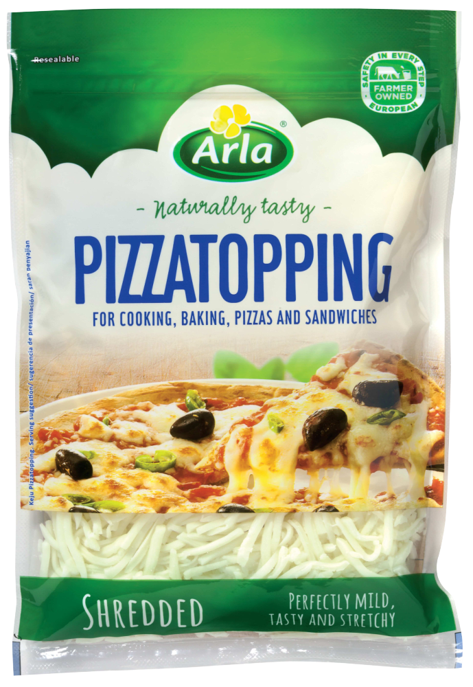 Arla Pizza Topping Shredded Cheese 175G