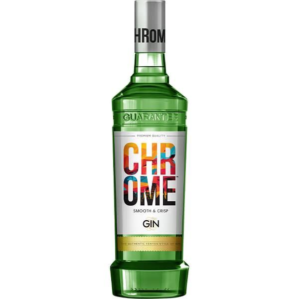 Chrome Gin 750ml