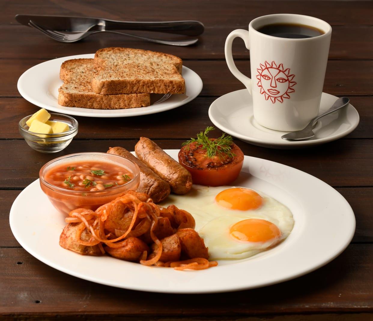 Full Java Breakfast Plus Any Single Hot Coffee Drink