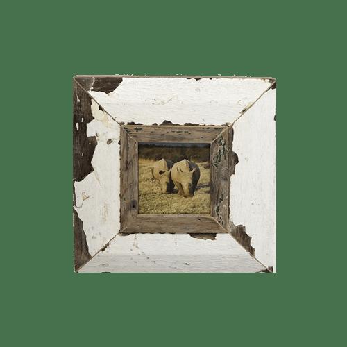 Cornice in legno recuperato 23x23 AB