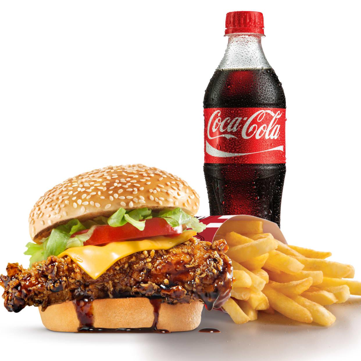 Legend Burger Meal
