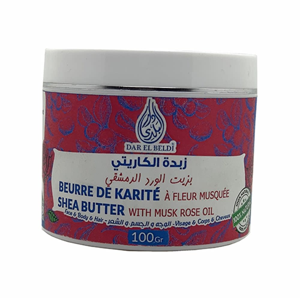 Beure De Karité À Fleur Musquée 100G
