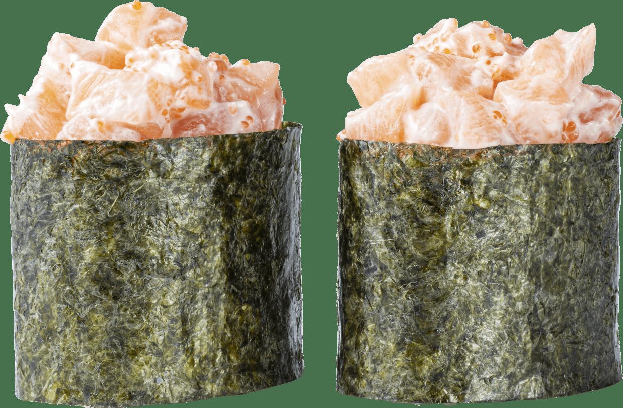 Суші гункан лосось 2шт
