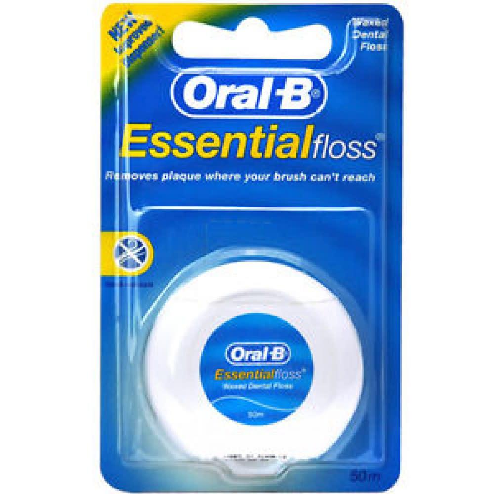 Oral B Essential Floss filo interdentale non cerato 50 metri