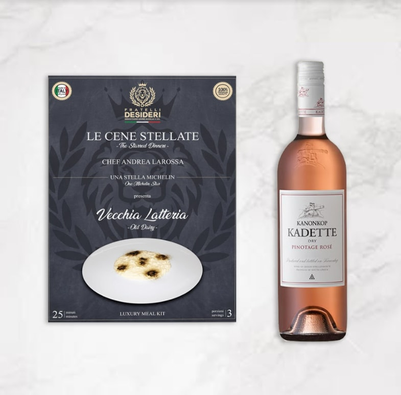 Pinotage Rosè & Vecchia latteria