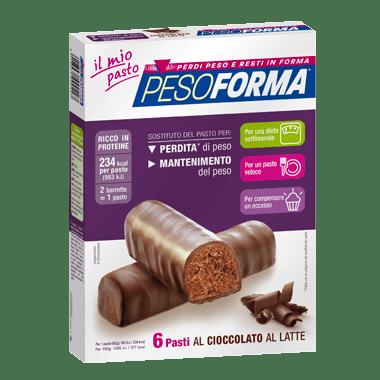 Pesoforma Barrette Cioccolato al Latte