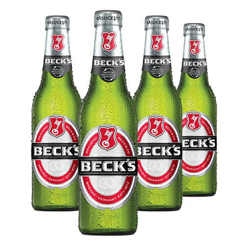 Beck's Sticla 4 x 330ml