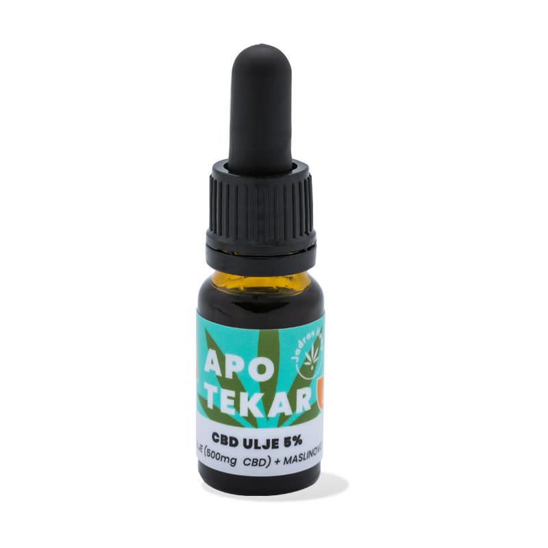 Jadran Hemp ulje CBD 5% maslina 10ml