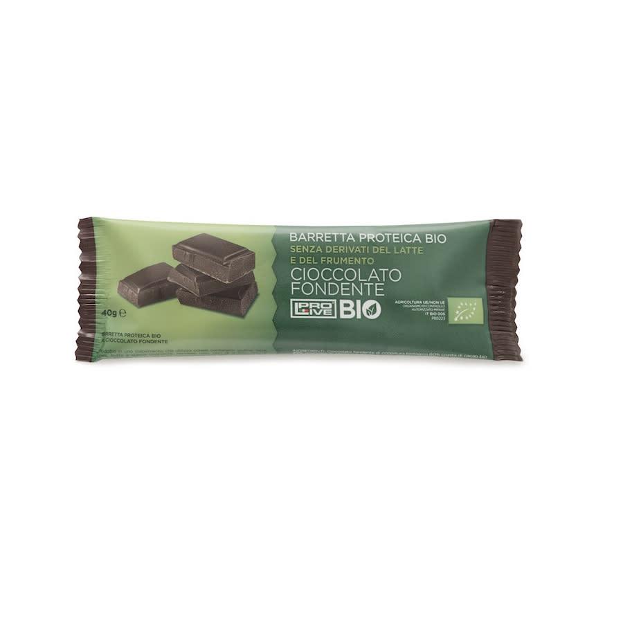 Prolive Bio Barretta Proteica Cioccolato Fondente 40 gr