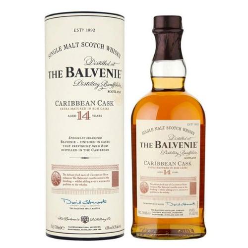 Whisky BALVENIE 14Y CARIBBEAN CASK 43% 0,7L
