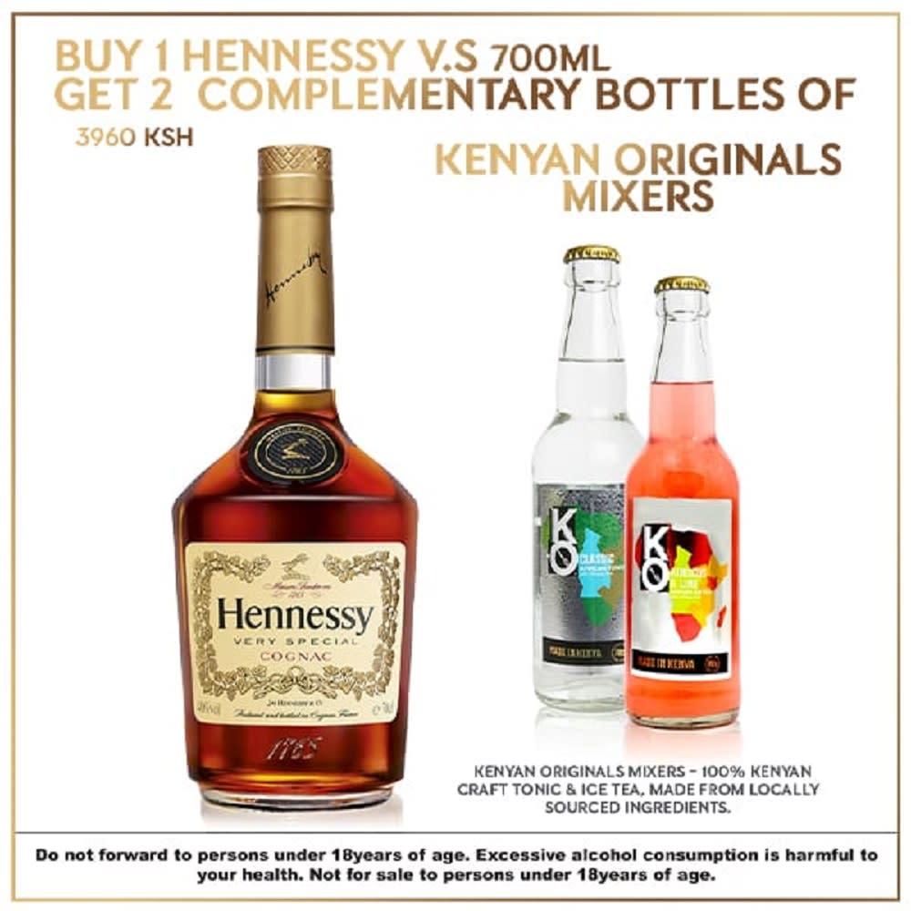 Hennessy V.S 700ml