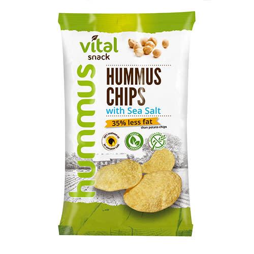 Vital snack hummus cu sare 65g