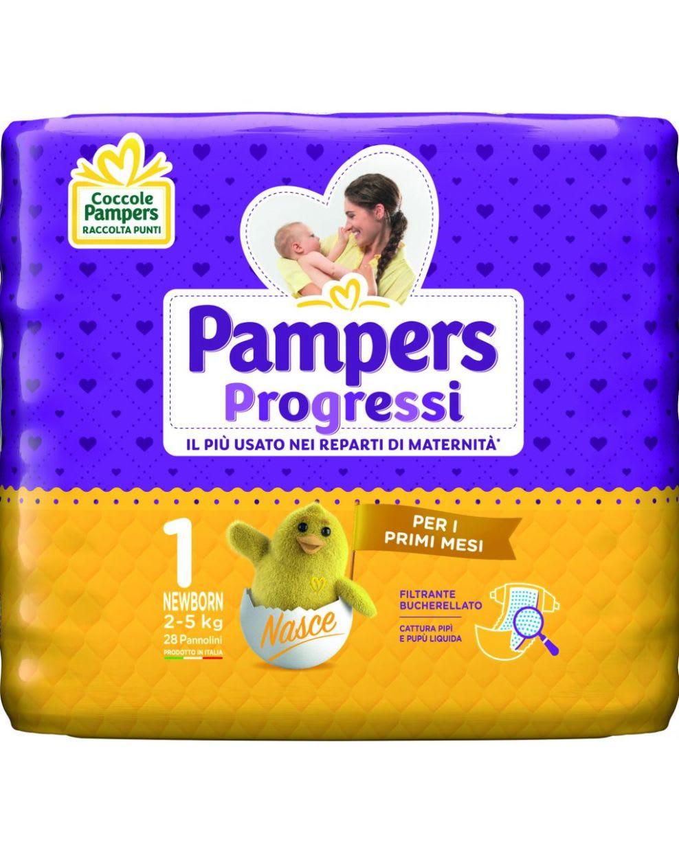 Pampers Progressi Newborn 28 Pannolini