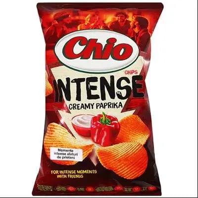 Chipsuri Chio Chips Intense cu paprika 135g