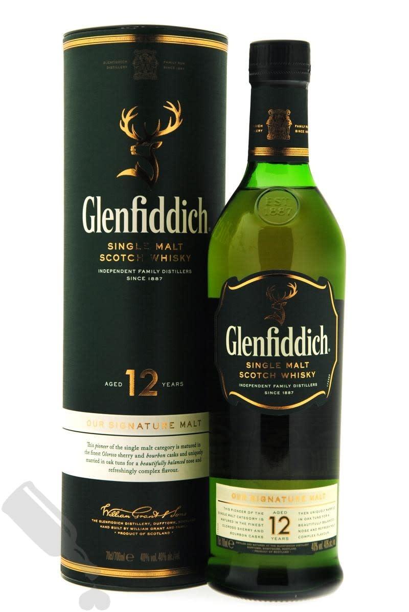 GLENFIDDICH SINGLE MALT 12YRS 1L