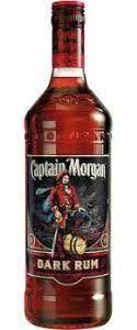 Captain Morgan dark rum 750ml