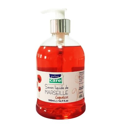 Primcare antiseptique Savon 70% alcoolisé 500ml coquelicot