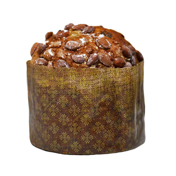 Panettone Amêndoas e Chocolate Médio