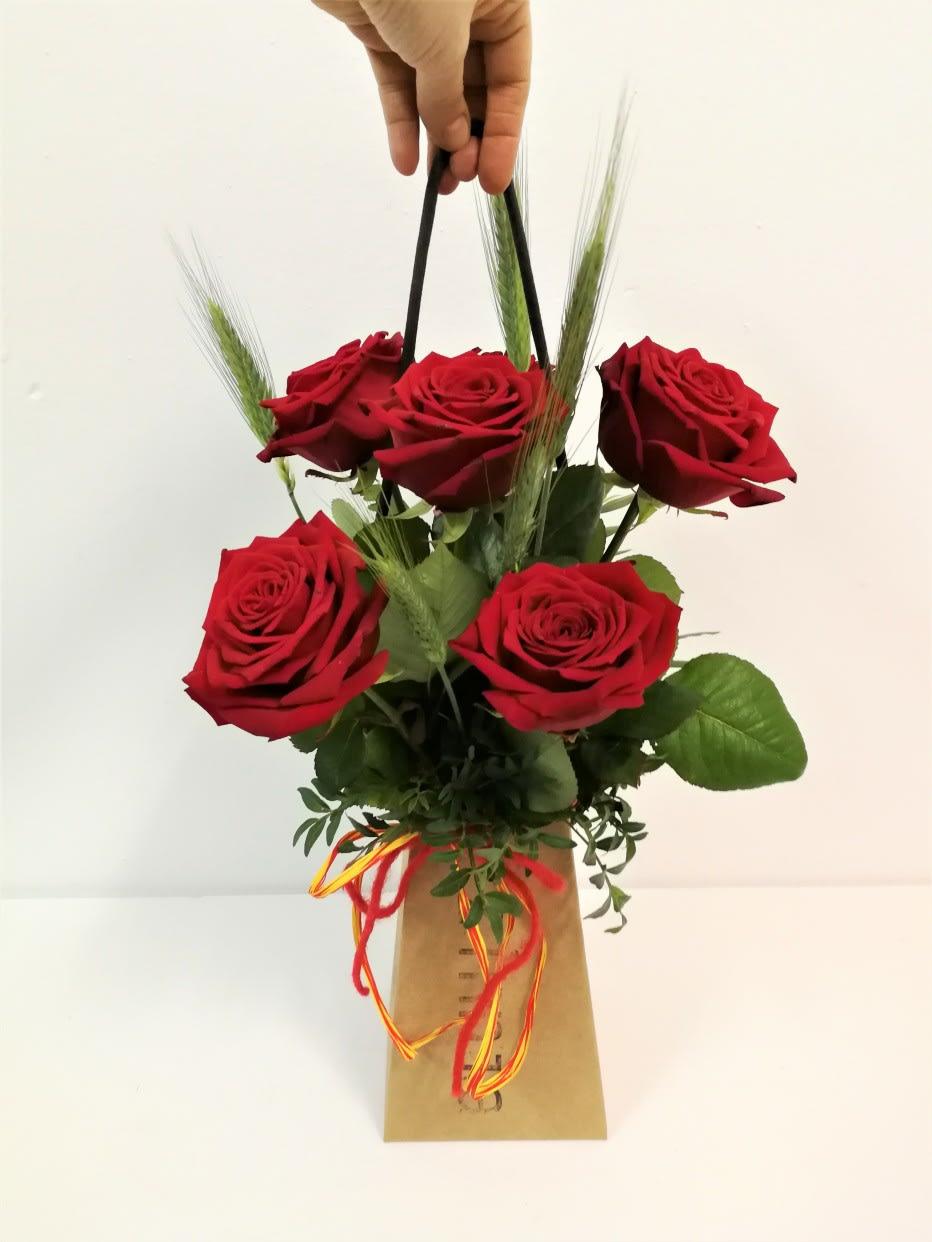 Little Bag Sant Jordi (6 rosas)