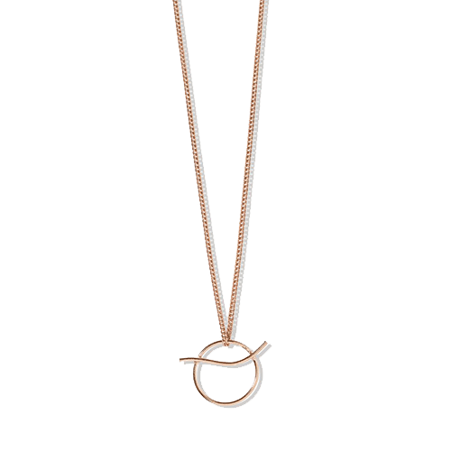 Collana Beta, placcatura oro rosa