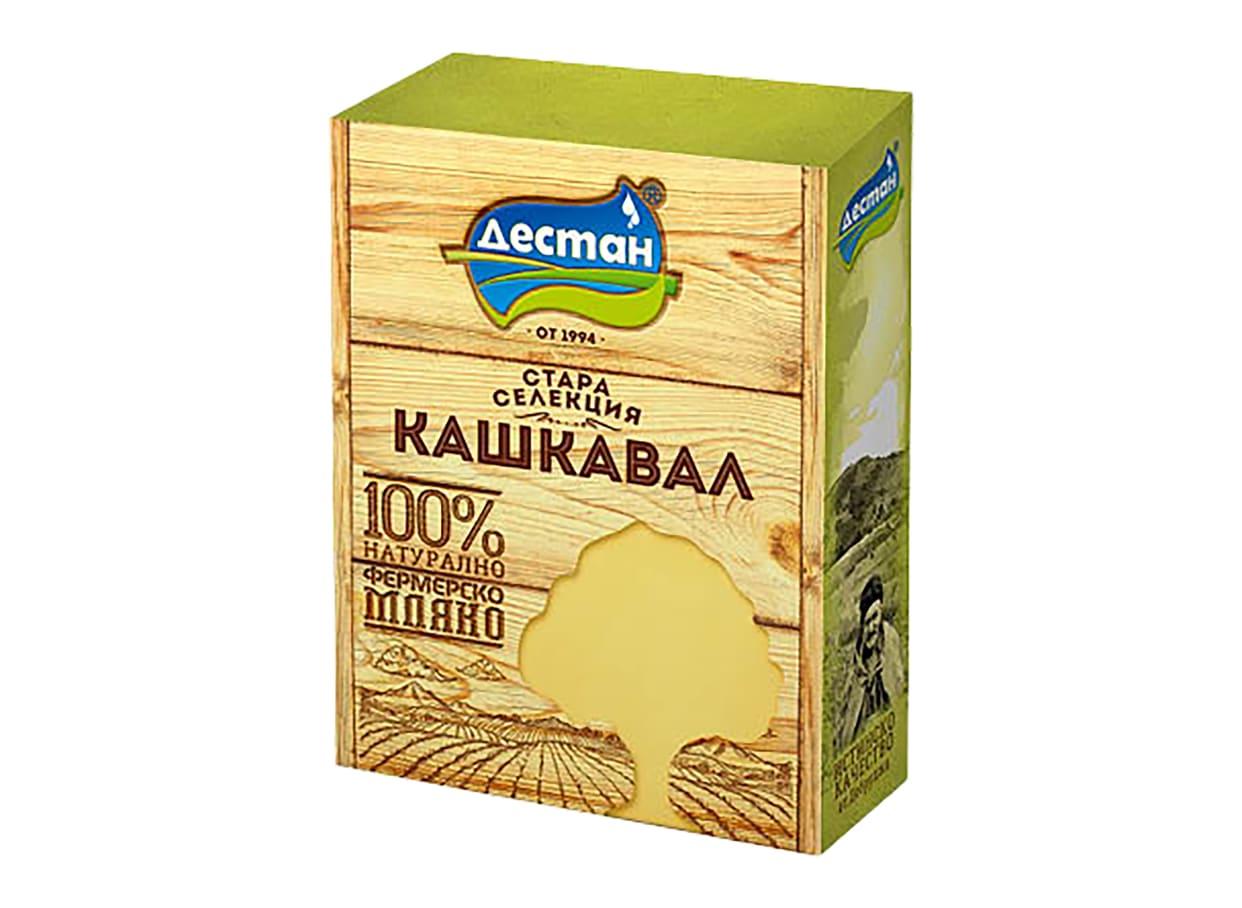Кашкавал от краве мляко Дестан стара селекция вакуум (450г) / 36061