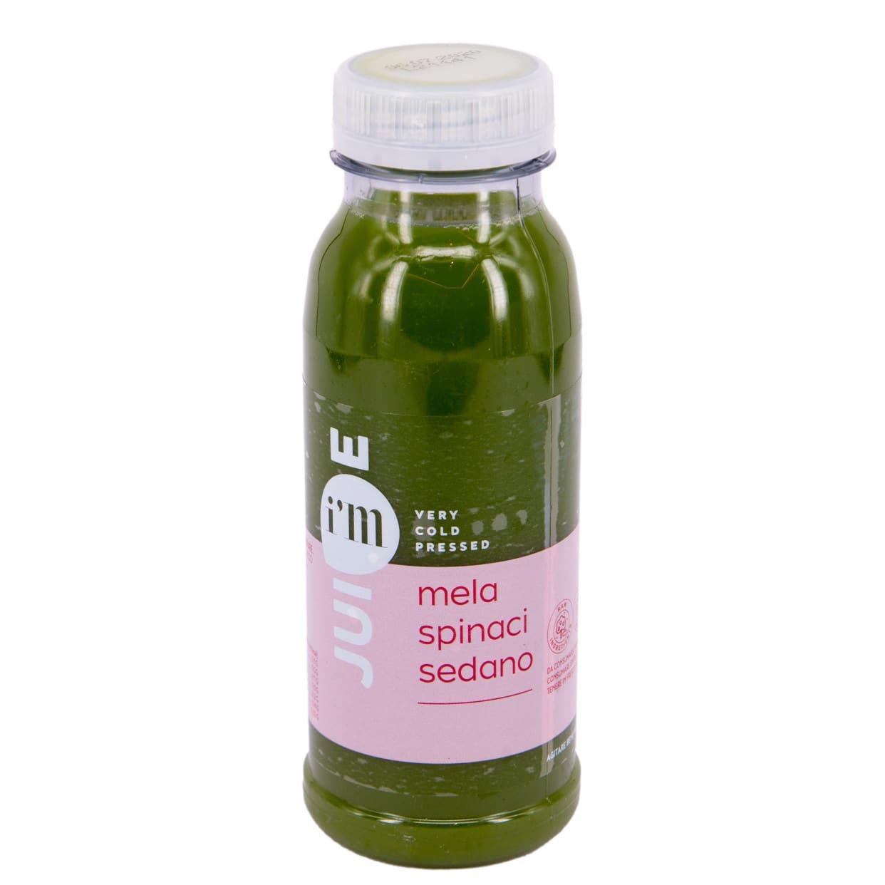 Succo spinaci/mela verde/sedano 25 cl