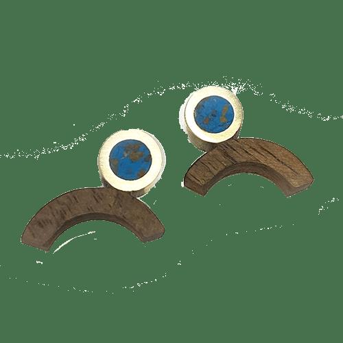 Orecchini Arco - turchesi