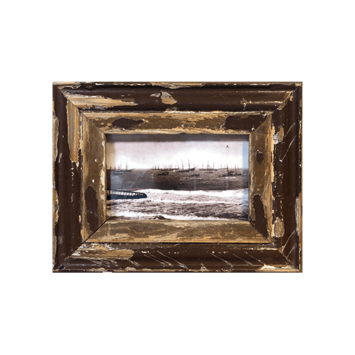 Cornice in legno recuperato 18x23 AB