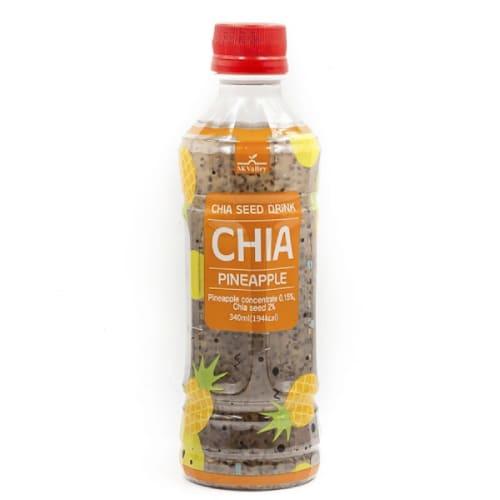 Bebida De Semillas De Chía Con Sabor A Piña Mk Valley 340Ml