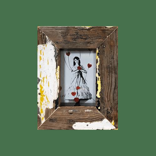 Cornice in legno recuperato 18x23 AD