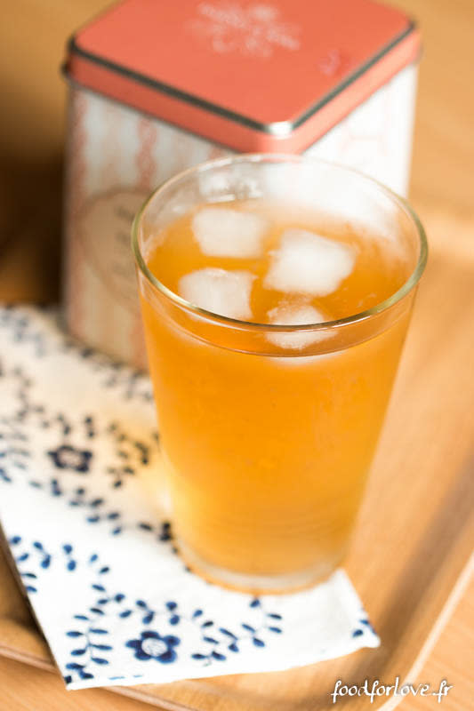 Thé glacé citron passion