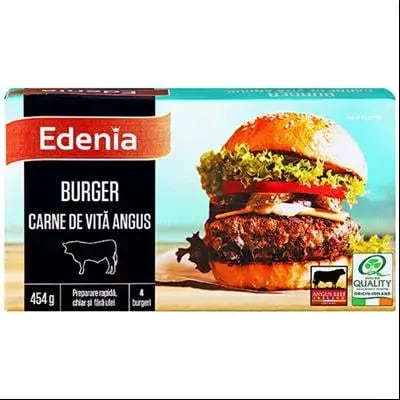 Burger Edenia de vita Angus 454g