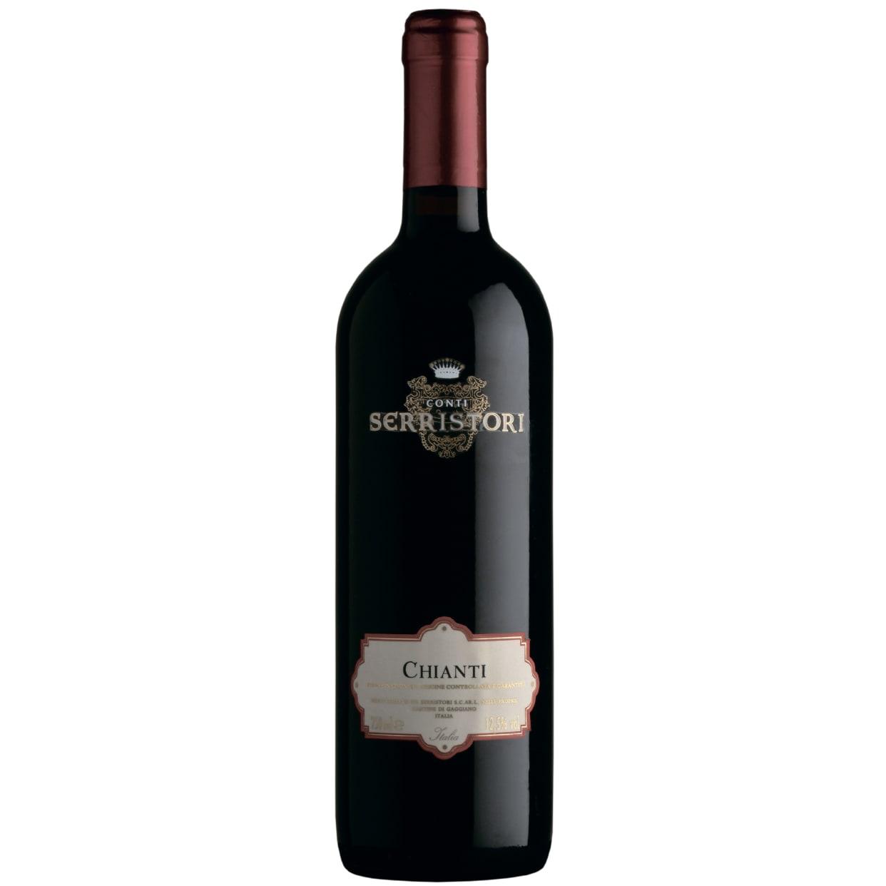 Вино Конті Серрісторі К'янті DOCG (0.75л)
