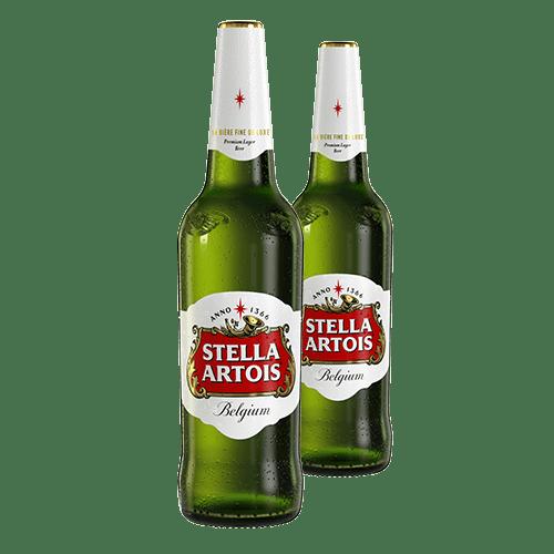 2 X Stella Artois sticla 660ml