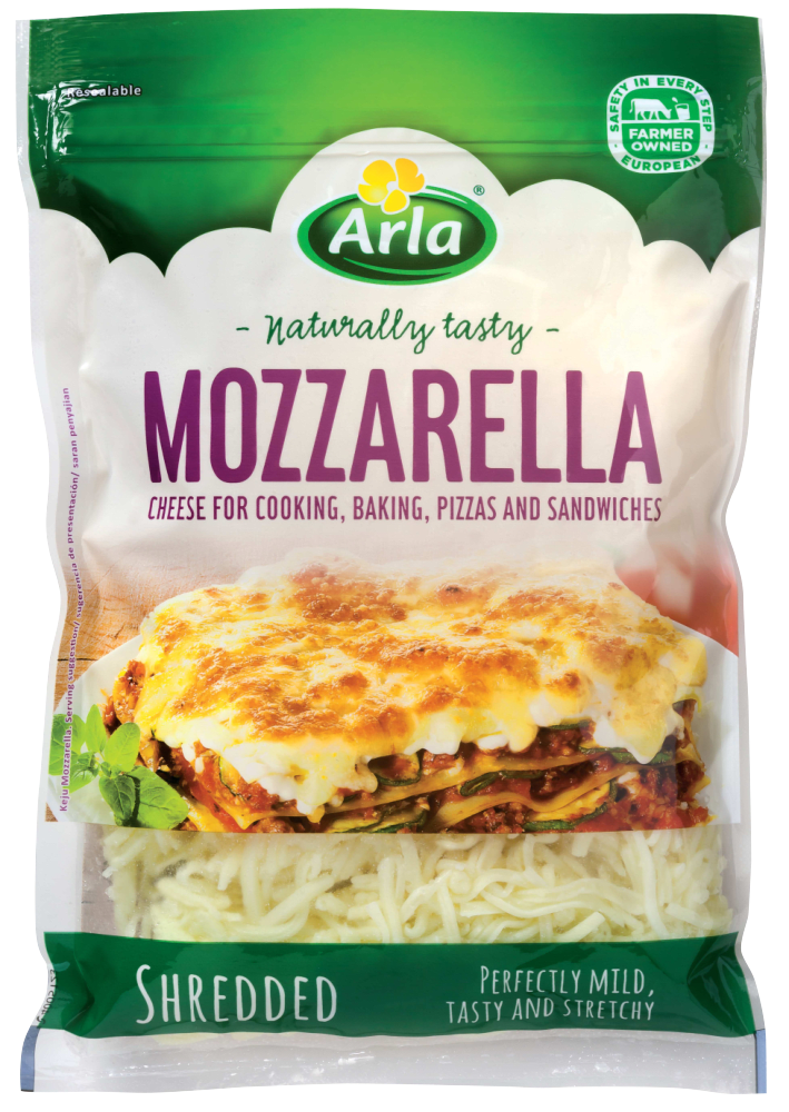 Arla Mozzarella Shredded Cheese 175g