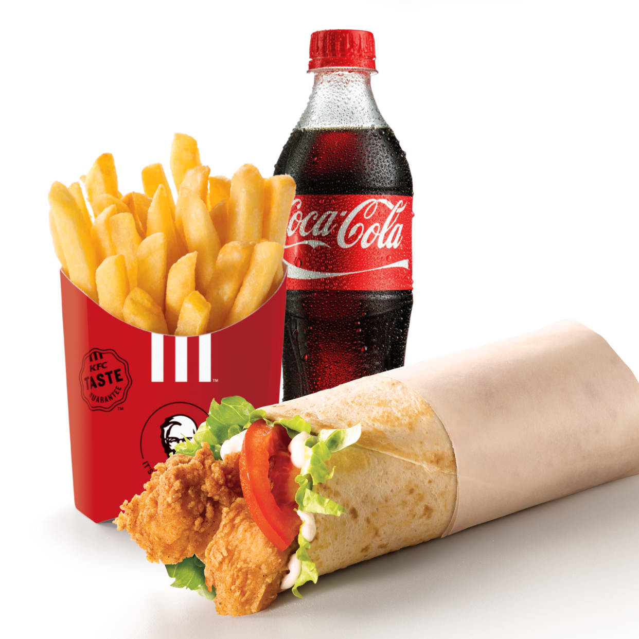 Twister Meal (Meal with regular chips & a 500ml soda)